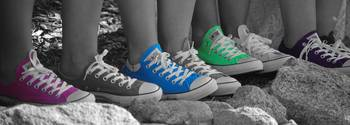 colored chucks
