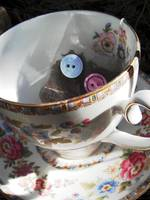 A Posh Teabag Person Hiding in a Teacup