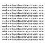 """words"" by ThePeopleInMyHead"