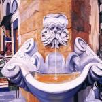 """Piazza Frescobaldi"" by matteopaints"