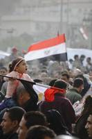 Young Girl in Tahrir Square