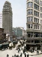 Phelan and Humbolt Building on Market Street by WorldWide Archive