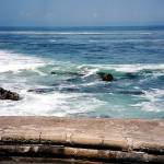 """Pacific Grove Stone Wall"" by luv4pix"