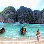 """Maya Bay Panorama"" by travelbug"