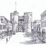 """Westgate Tower St Dunstans Street"" by phils-art"