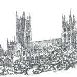 """Canterbury Cathedral"" by phils-art"