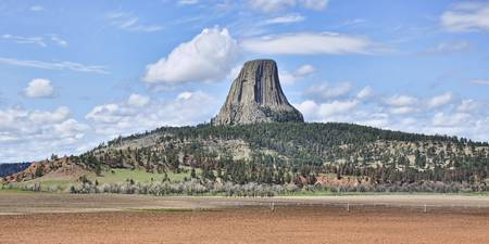 A View Of Devils Tower