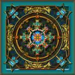 """20110628-NorthMandalayMandala-v17"" by quasihedron"