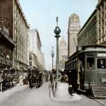 """Market Street by Powell, San Francisco"" by worldwidearchive"