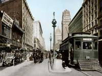 Market Street by Powell, San Francisco by WorldWide Archive