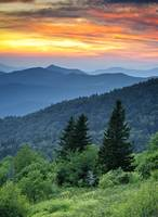 Fire in the Mountains - Blue Ridge Parkway
