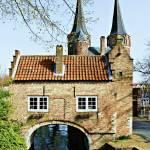 """""""De Oostpoort, Delft"""" by MoshersMoll"""