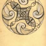 """Eye Swirls Mandala"" by PrettyLady"