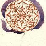"""""""Orange Flow Mandala"""" by PrettyLady"""