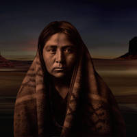 Navaho Native American by I.M. Spadecaller