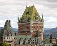 Chateau Frontenac in Quebec City Canada