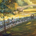 """Bridge Painter"" by rogerwhite"