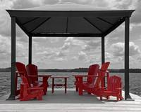 Canopy Over Muskoka Chairs