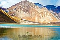 SAND MOUNTAINS AT PANGONG TSO HIGH ALTITUDE LAKE L