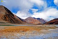 PANGONG TSO HIGH ALTITUDE LAKE LEH LADAKH J&K HP B