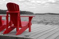 Red Muskoka Chairs 3