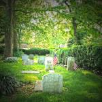 """Old Swedes Cemetery"" by notmovingpictures"