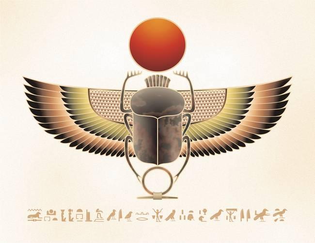 egyptian winged scarab - photo #29