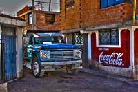 hdr ford truck in chivay