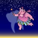 """The Tooth Fairy Pig"" by lesteryocum"