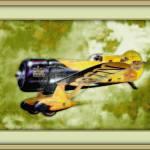 """Gee Bee Z Racing Plane"" by pieraveinsomniac"