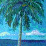"""Palm Tree"" by paintingsbygretzky"