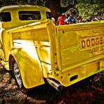 """The Old Yellow Dodge"" by chassinklier"