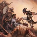 """Battle of Chamkaur 30x20"" by bhagatsingh"
