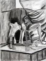 ART120 - Final Drawing - Vine Charcoal