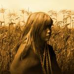 """Mohave Indian Girl in Cornfield"" by spadecaller"