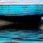 """Blue Boat at Beadnell Beach"" by ianjeffrey"