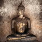 """""""Ancient statue of Buddha"""" by nuttakit"""