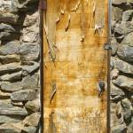 """Old Wood Door and Stone"" by lightningman"