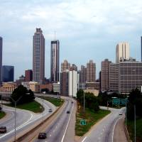 Downtown Atlanta-2 Art Prints & Posters by Gregory Ponds