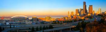 Seattle Downtown Panorama
