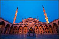 Blue Mosque at Dawn