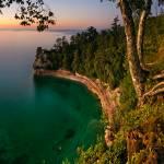 """Lake Superior Sunset"" by RudyBalasko"