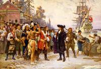 LANDING OF WILLIAM PENN