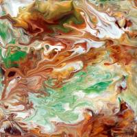 Abstract Fluid Painting 40 Art Prints & Posters by Mark Chadwick