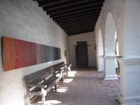 Corridor to the Mission Museum