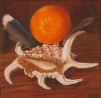 Exquisite Corpse - Shell, Feathers, & Tangerine