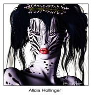 Zeeebra! Exotic Portrait by Alicia Hollinger