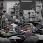 """""""Chinatown sea of umbrellas"""" by geroco"""