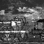 """Coal Fired Engine"" by artstoreroom"