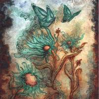 Wind Riders I Art Prints & Posters by Rebecca Salcedo